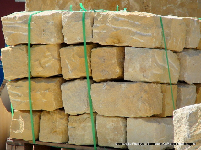 sandstein mauersteine 20x20x40 gespalten gespitzt sandstein natursteine ist ein. Black Bedroom Furniture Sets. Home Design Ideas