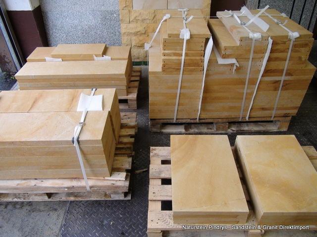 sandstein mauerabdeckung ges gt sandstein natursteine ist ein direktimport wir bieten ihnen. Black Bedroom Furniture Sets. Home Design Ideas