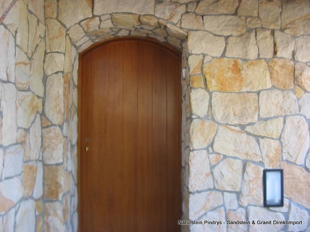 Bruchstein Wandverkleidung bruchsteinverblendung sandstein verblender mauerverblender